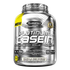 Caseína Platinum 3.75 lbs Vainilla · Muscletech