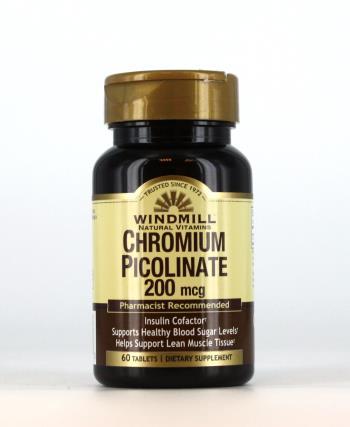 picolinato de cromo 200- suplementos- vitaminas - culturismo - dieta- reduccion de peso