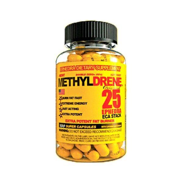 Methyldrene-25-Cloma-Pharma-quemador de grasa con yumbina y cafeina