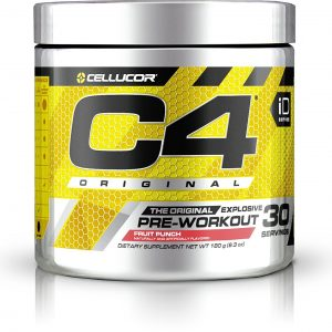 c4 pre entreno pre work out cellucore 30 servicios