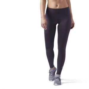 Calza deportiva mujer para gimnasio , negra ajustada para uso diario