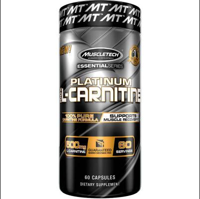 Un producto MuscleTech ¡No estimulante que ayuda a mejorar y mejorar la recuperación muscular! * 500 mg de L-carnitina por cápsula 180 Porciones por botella Formulado para apoyar la recuperación muscular * Fórmula de carnitina 100% pura