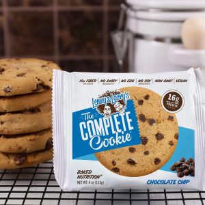 galleta de proteina the complete cookies lenny and larrys