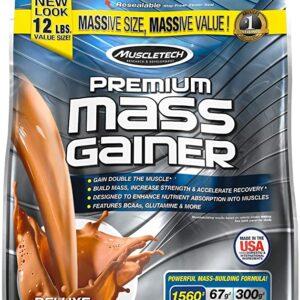 ganador de peso premium mass gainer 12 libras
